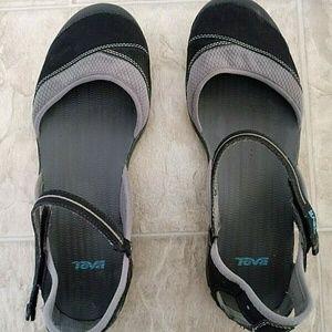 Teva Shoes - Teva Westwater 4188 Womens Gray Mary Jane Sport 11